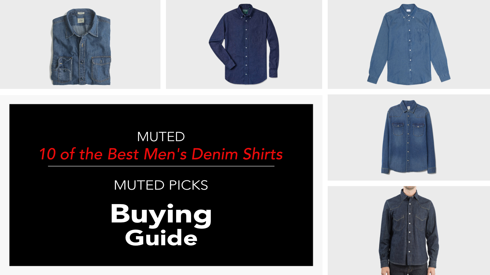 Best Men's Denim Shirts