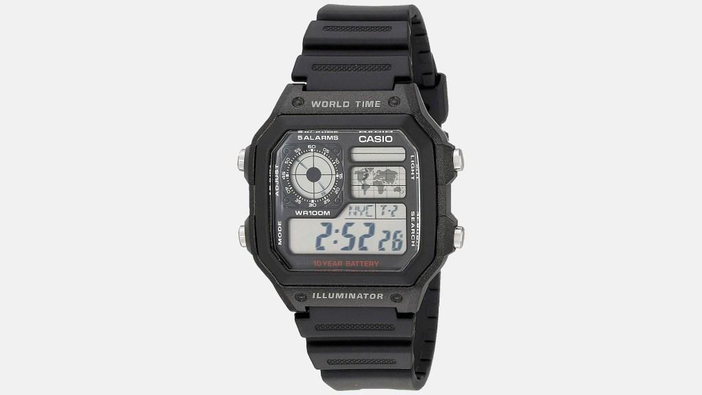 Casio Classic Black Best Digital Watches for Men