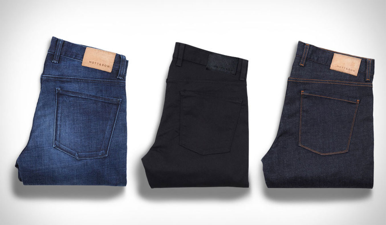 Mott and Bow Jeans Men's Winter Fashion