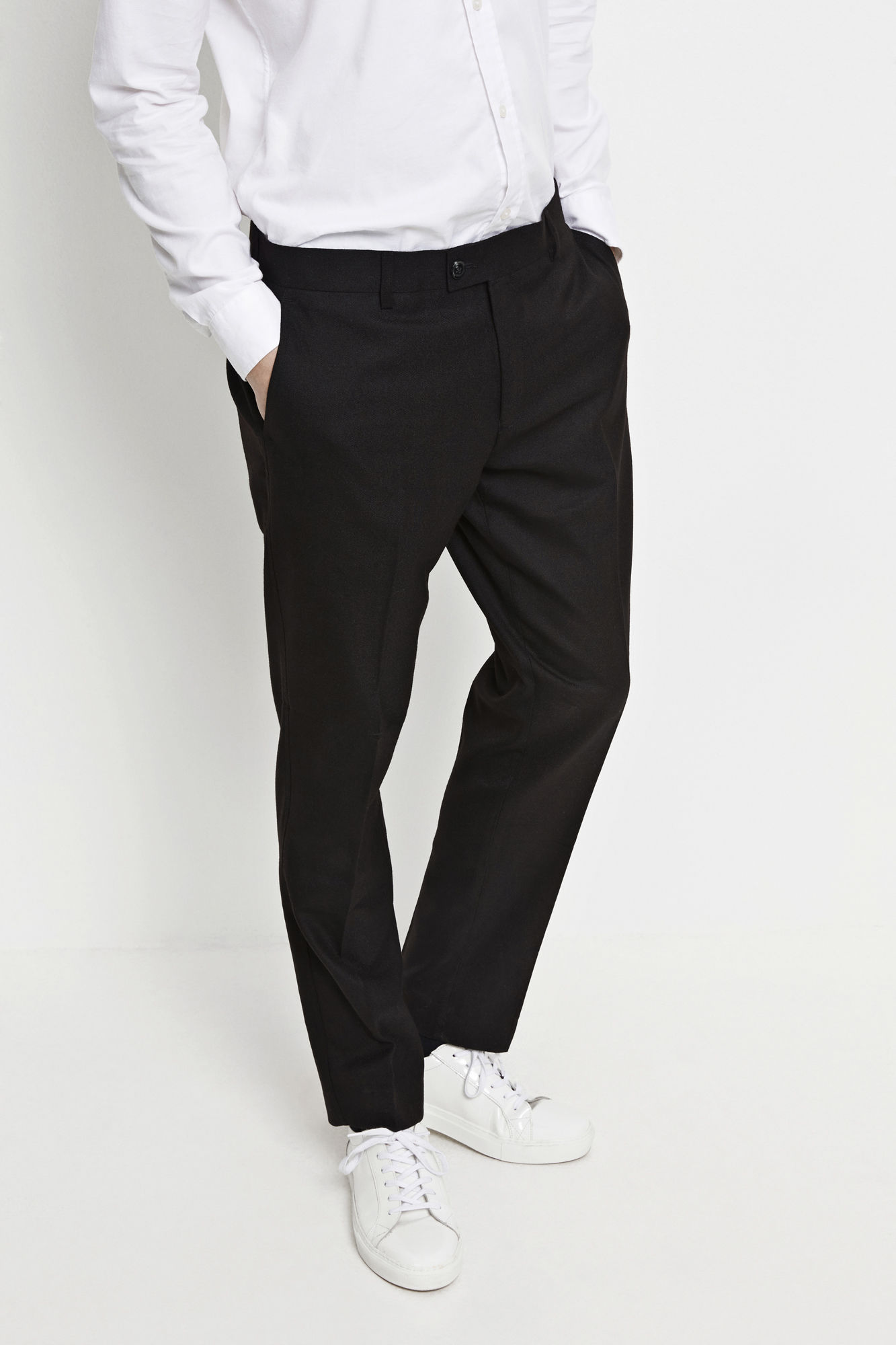 Samsoe Laurent Wool Pants Men's Winter Fashion