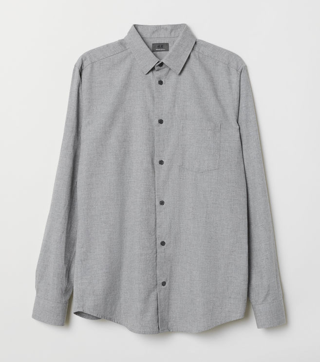 H&M Oxford Shirt Men's Summer Fashion Essentials