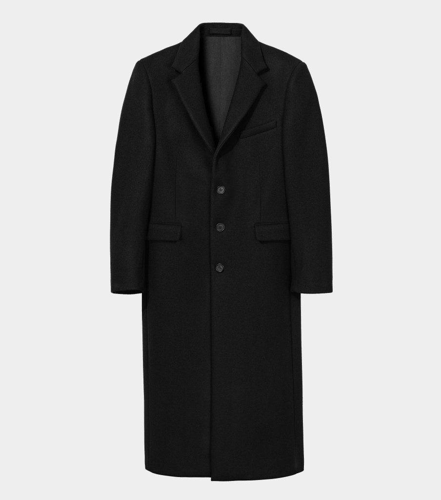 Wardrobe.NYC Overcoat Capsule Wardrobe