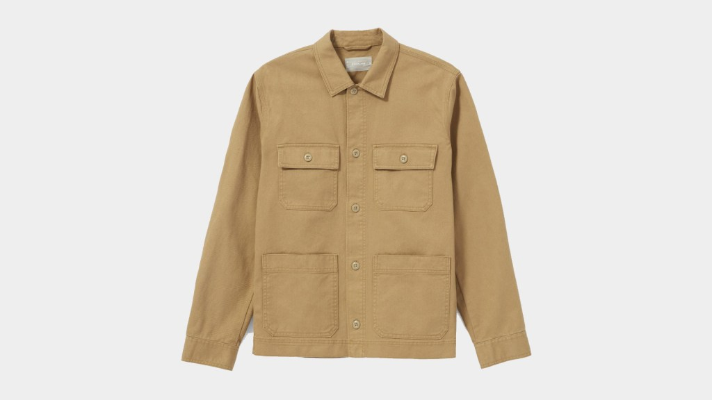best overshirts for men from Everlane