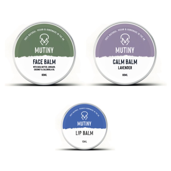 Face/Calm/Lip Balm Combo