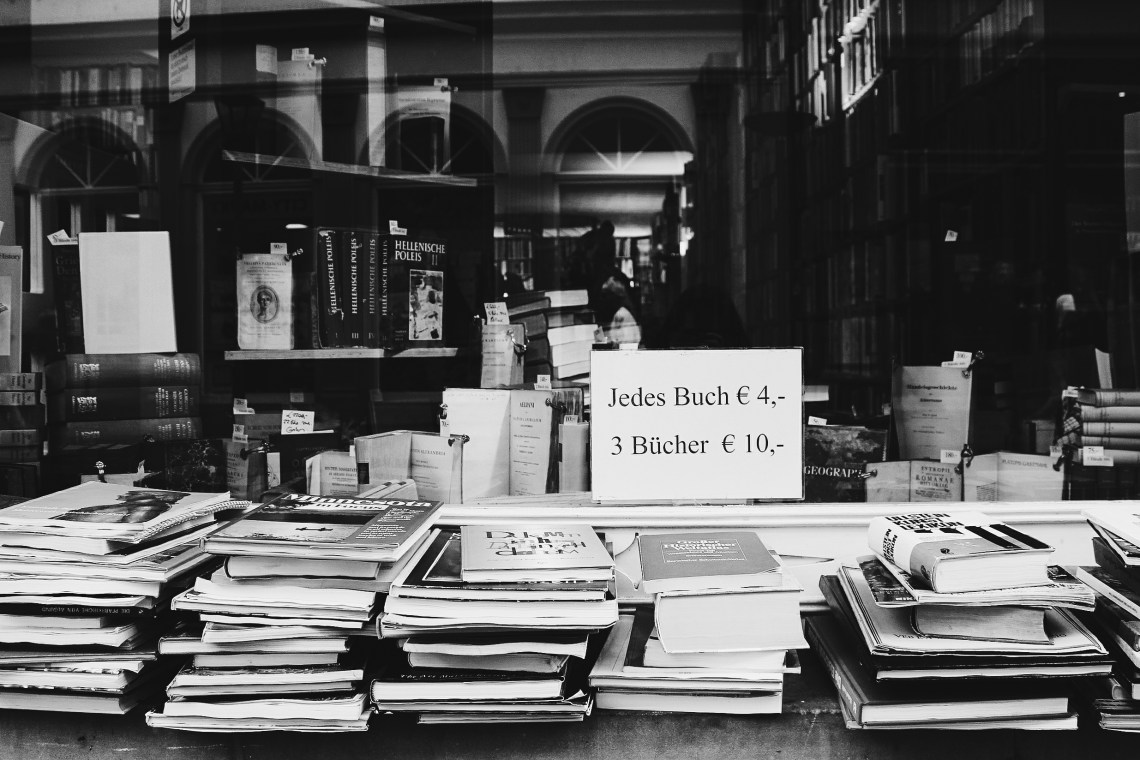 Secondhand Bookshop Germany