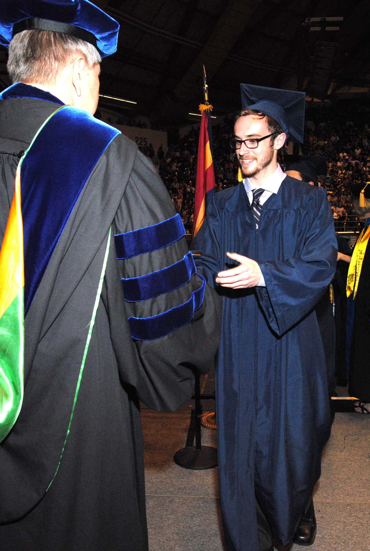 Sam's college graduation