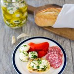 Garlic & Herb Mozzarella Balls
