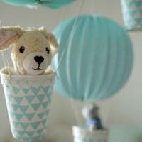 Heißluftballons für's Kinderzimmer