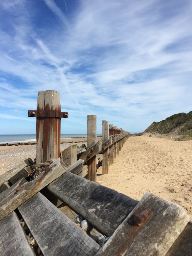 groynes in Norfolk