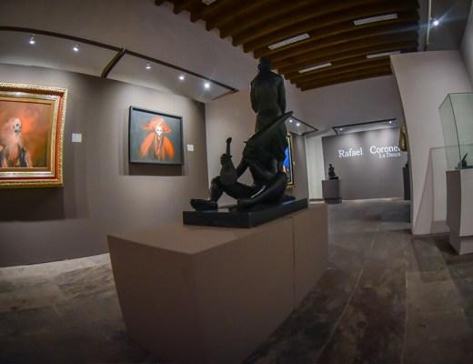 Exposición del artista visual Rafael Coronel en San Miguel de Allende
