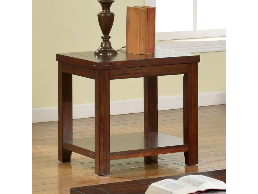 estell dark cherry end table shop for affordable home furniture decor outdoors and more