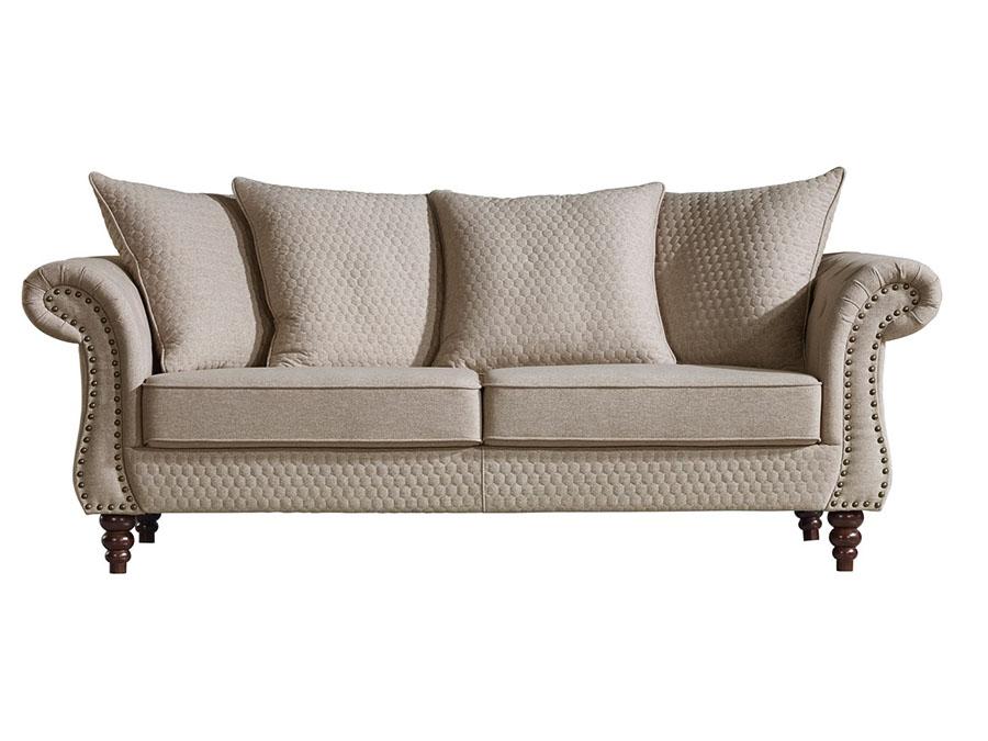 Beige Fabric Sofa This Fabric Sofa From The Gala Range