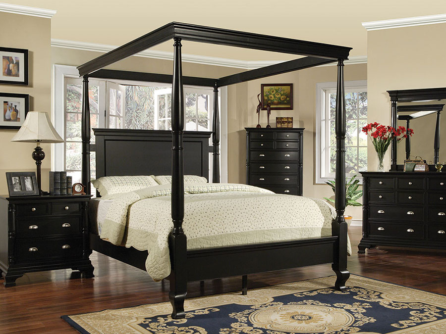 moca queen canopy bed shop for affordable home furniture decor outdoors and more