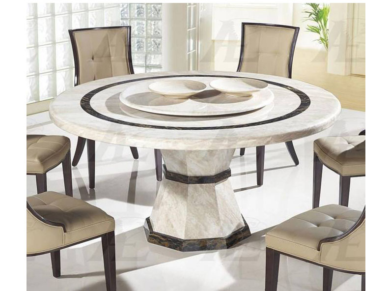 Beige Marble Top Round Dining Table Shop For Affordable