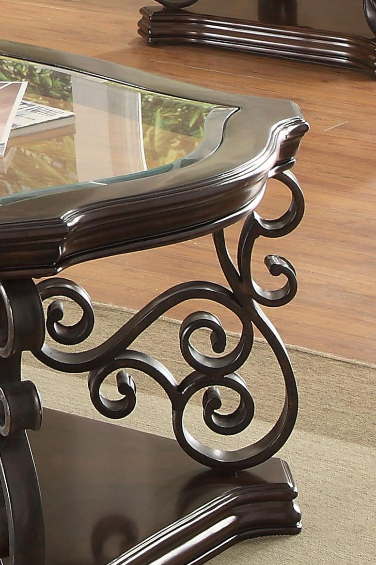 dark brown coffee table with tempered glass top shop for affordable home furniture decor outdoors and more