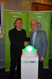 William Rogers from UKRD and Ford Ennals from Digital Radio UK