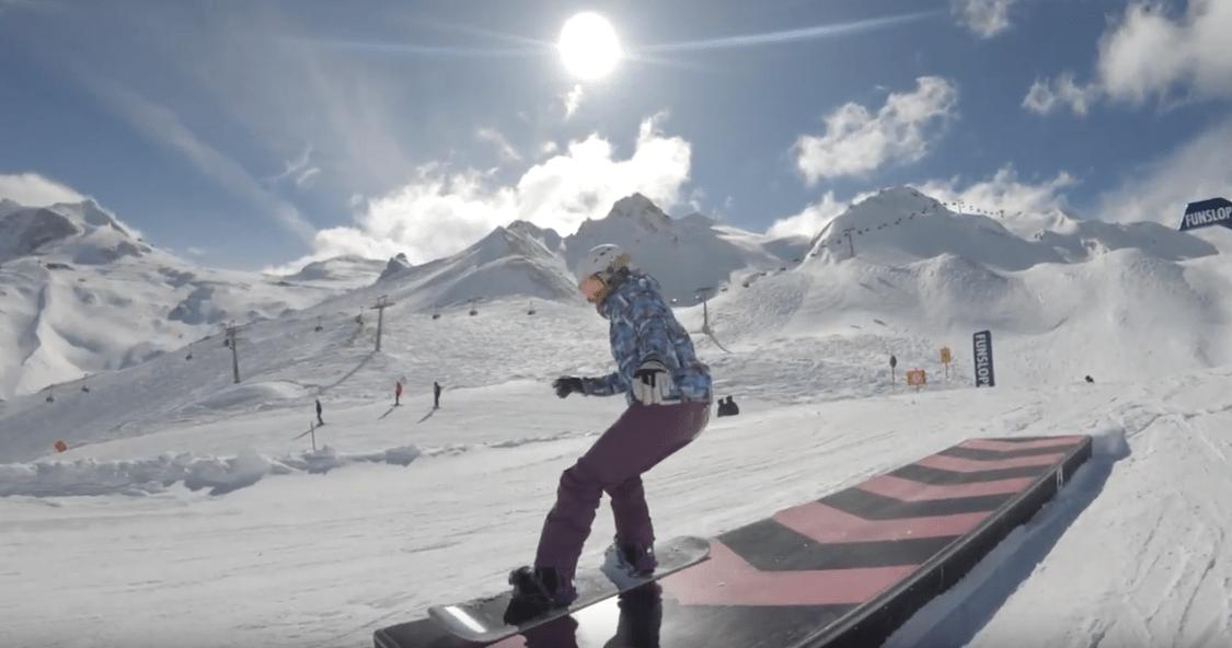 muxetv Fisheye Adventures Snowboarding Zillertal 2018