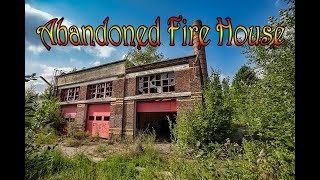 Exploring-An-Abandoned-Fire-House