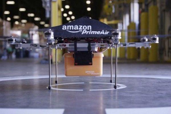 Amazon Prime Air, la logística que vuela