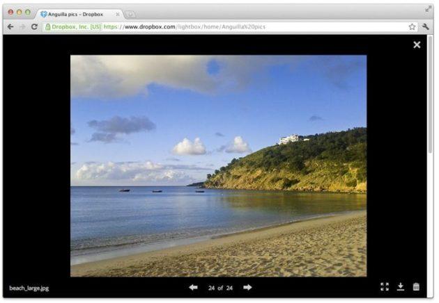 dropbox rediseño 2 630x436 Dropbox rediseña su interfaz web