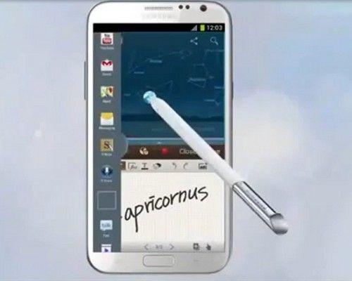 Note II split 500x400 El Galaxy Note II recibe la actualización de pantalla dividida