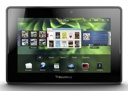 Tablet Blackberry10 Veremos un tablet BlackBerry OS 10 este año