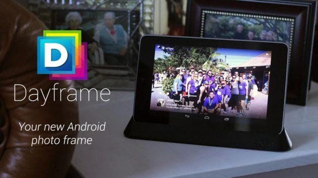 Dayframe convierte tu tablet Android en un marco digital