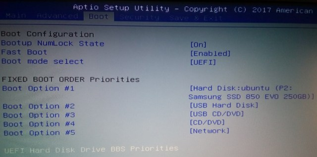 Windows diez y ©Ubuntu 17