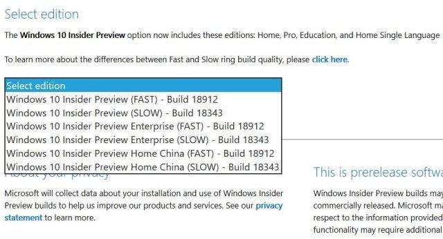 ISO de Windows 10 20H1