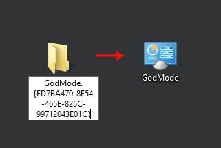 Modo Dios de Windows