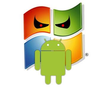 MicrosoftAndroid 2 Microsoft gana cinco veces más con Android que con Windows Phone 7