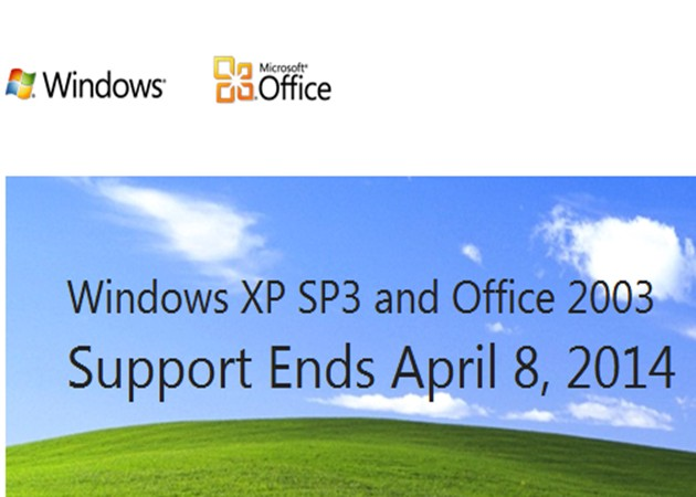 WindowsXP Office2003 Cuenta atrás para Windows XP y Office 2003