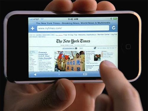 movil internet celular El 64% de los internautas accede a internet a través del móvil