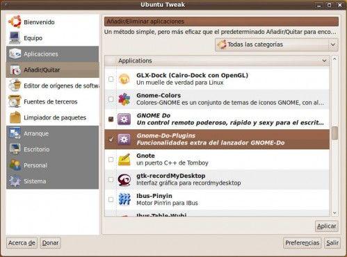 Karmic - Ubuntu Tweak
