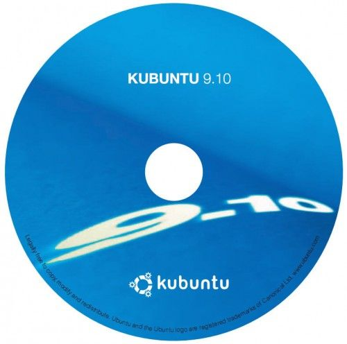 Kubuntu 9.10 CD