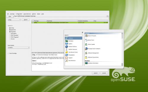 OpenSUSE 12.1 YaST QT 500x312 Las novedades de openSUSE 12.1