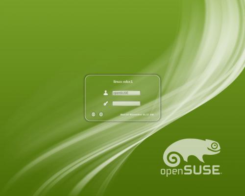 Opensuse 12.1 en kdm 500x400 Las novedades de openSUSE 12.1