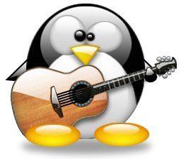 tux musica Aprendizaje de música en GNU/Linux