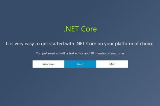 Microsoft anuncia la disponibilidad de .NET Core 1.0