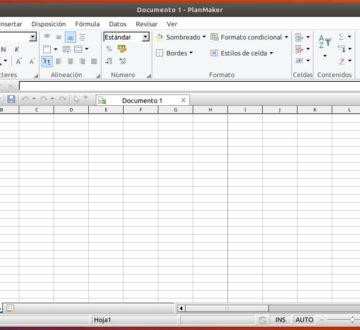 PlanMaker de SoftMaker Office 2018