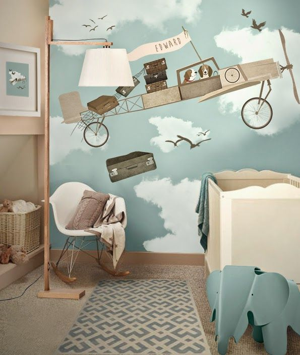 Decorar habitacion bebe vintage