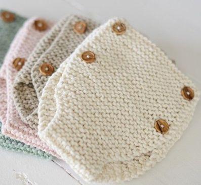 Manualidades a crochet para bebés cubre pañal