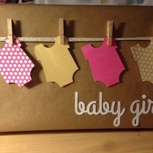 Manualidades para Baby Shower regalos