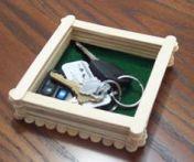 Manualidades de madera para el día del padre llaves