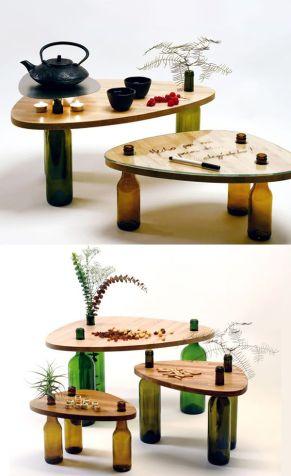 Manualidades con madera para el día del padre mesa
