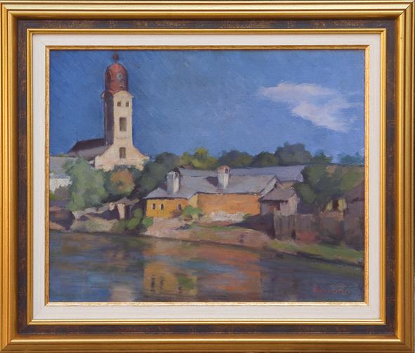 Grigore Negoşanu Pe malul Sasarului la Baia Mare