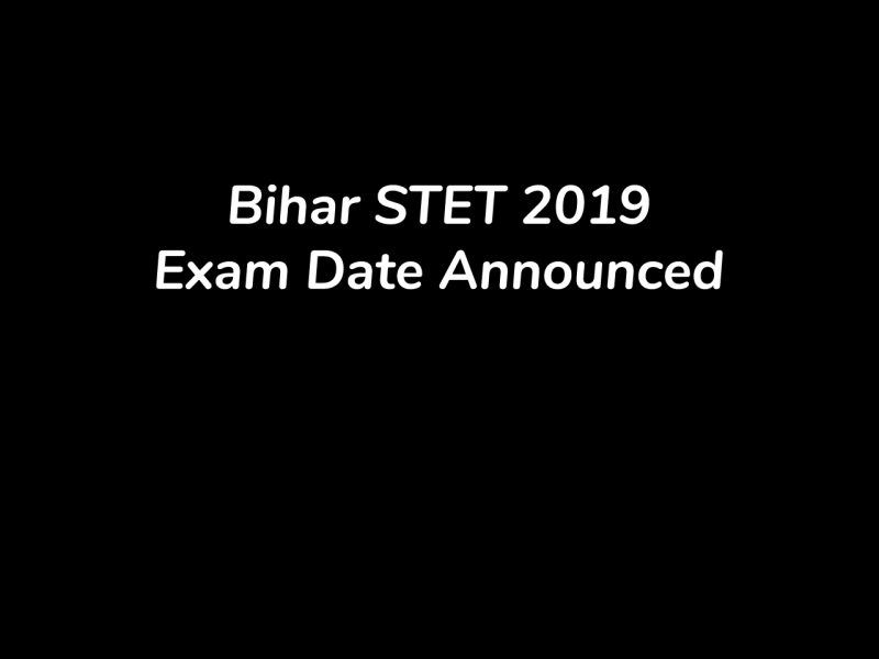 BSEB releases STET 2019 Exam Date