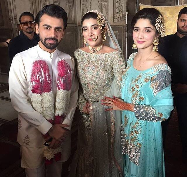 Urwa Hocane and Farhan Saeed Wedding Nikkah Pictures