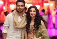 Hania Amir and Asim Azhar