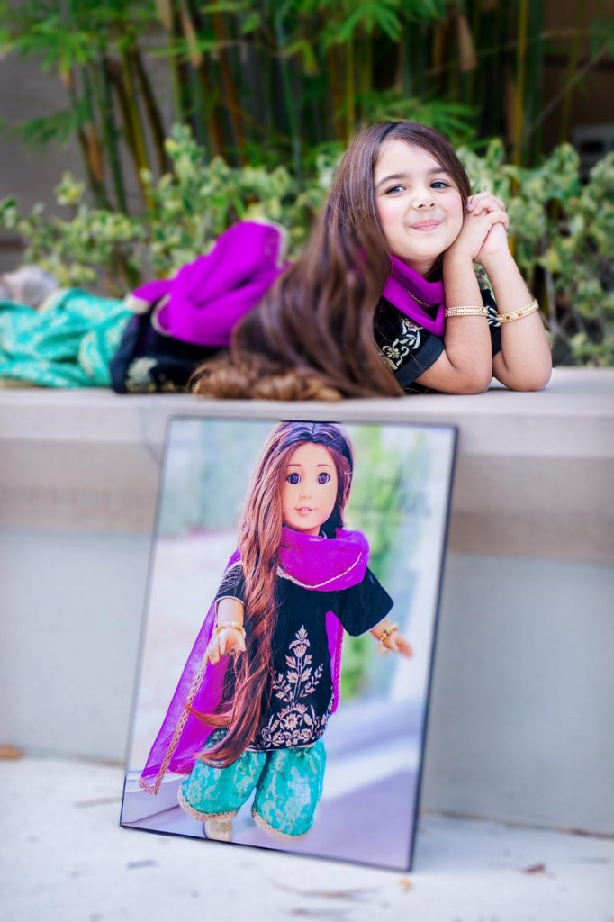 Miah Dhanani's Looks alike Doll